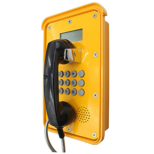 Analog telephone / VoIP / IP66 / for underground mining voip phone with LCD KNSP-16 HONGKONG KOON TECHNOLOGY LTD