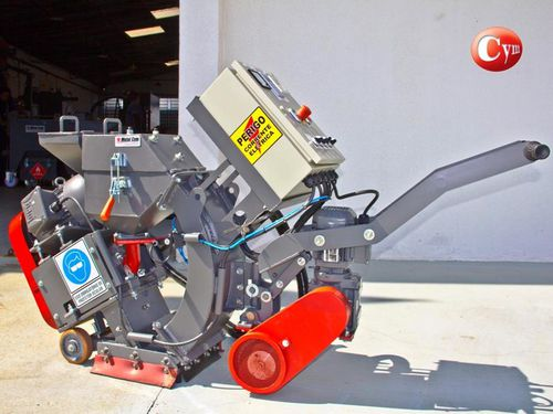 manual shot blasting machine / for metal / for concrete / mobile