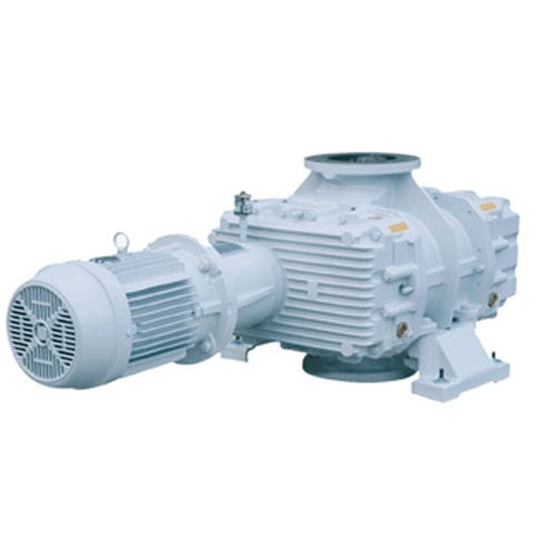 Roots rotary-lobe vacuum pump / lubricated / single-stage / industrial HV series P.V.R.