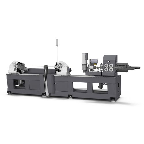 fully-electric bending machine / for wires / CNC / twin-head
