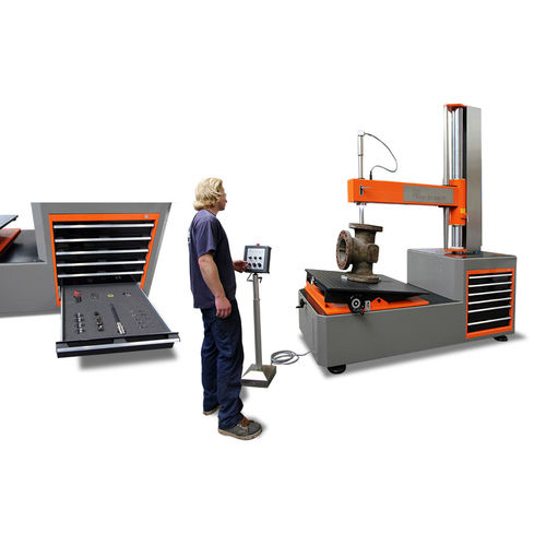external cylindrical grinding machine / tool / manually-controlled / stationary