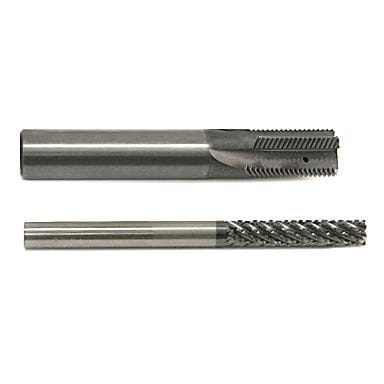 End mill milling cutter / solid carbide / finishing / roughing HTT