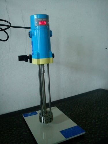 rotor-stator mixer / batch / for liquids / laboratory
