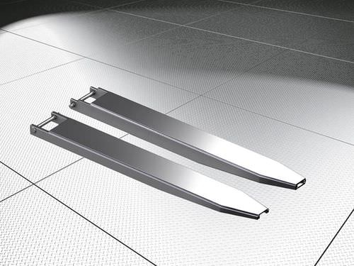 telescopic fork extension / for pallet handling
