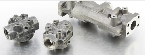 cartridge filter head / for oil / aluminum