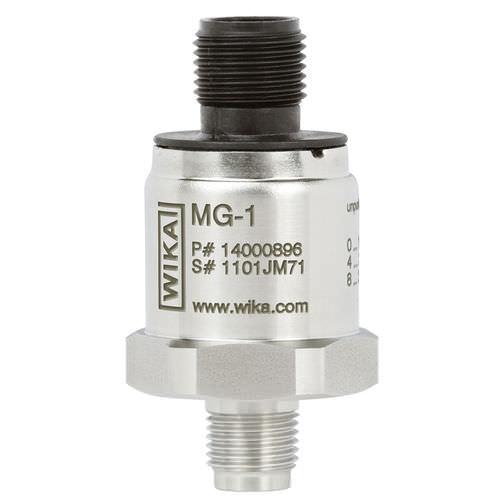 membrane pressure transmitter / analog / threaded / stainless steel