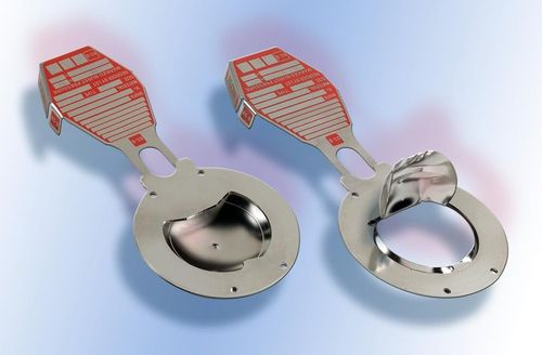 inverted rupture disc / stainless steel / low-pressure