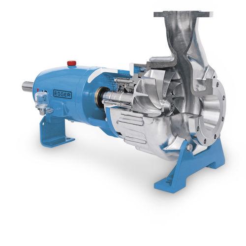 wastewater pump / slurry / electric / vortex
