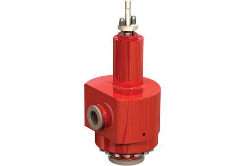 Control valve / spring / carbon steel / flange 74000 series GE Energy, Valves - Control & Safety