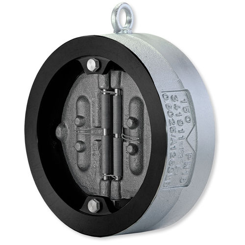 swing check valve / for gas / for steam