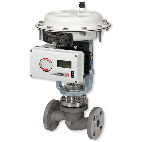 electric valve / pneumatic / for gas / for steam