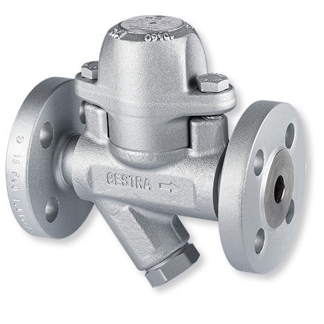 Condensate drain / automatic / thermostatic / bimetallic BK series GESTRA AG