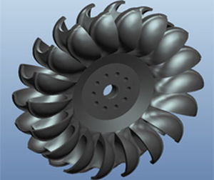 Hydraulic turbine / Pelton / for power generation Kirloskar Brothers Ltd.