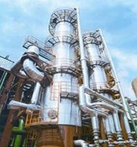 thermal evaporator / falling film / process / for liquids