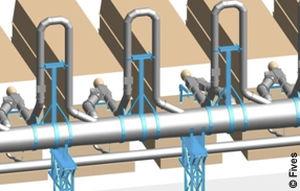 hairpin heat exchanger / gas/liquid