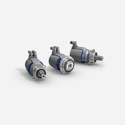 rotary actuator / electric / with servo-motor / synchronous