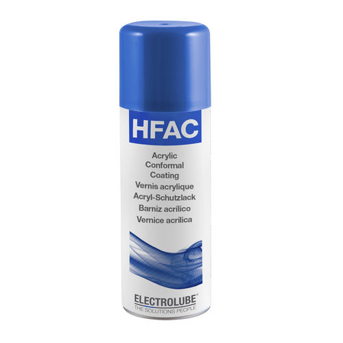 Protective covering / acrylic / for the automotive industry / for the aerospace industry HFAC ELECTROLUBE