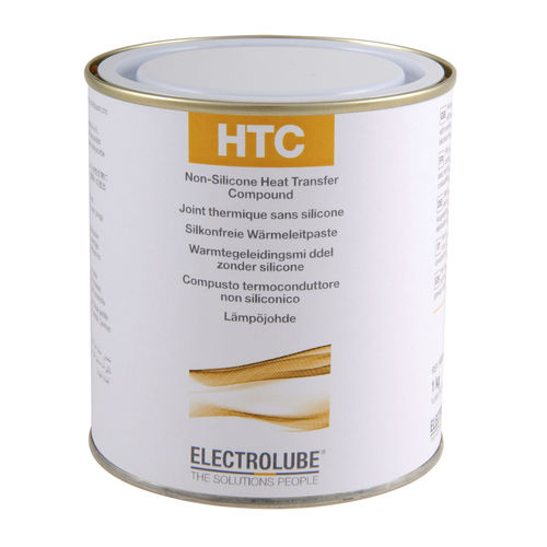 Thermal conductor paste / for electrical components / silicone-free HTC  ELECTROLUBE