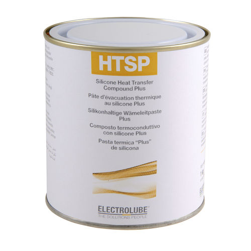 Thermal conductor paste / silicone / for electrical components HTSP ELECTROLUBE