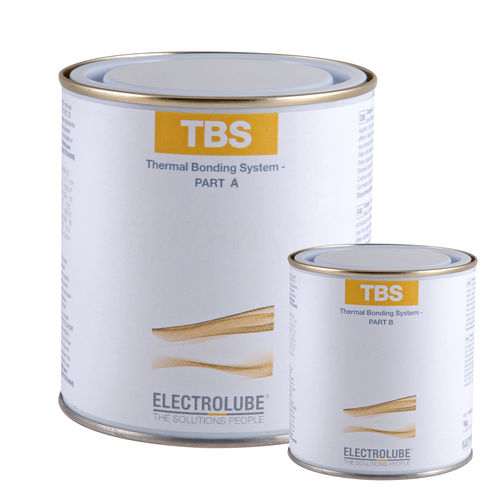Epoxy resin / for bonding / two-component TBS ELECTROLUBE