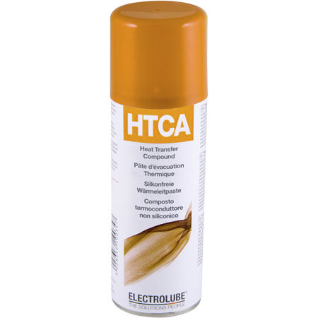 Thermal conductor paste / for electrical components / silicone-free HTCA  ELECTROLUBE