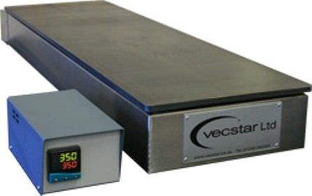 Heat treatment hot plate max. +400 °C Vecstar Furnaces