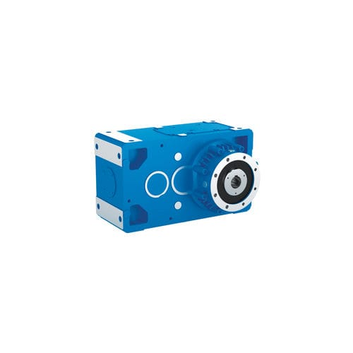 bevel gear reducer / helical / parallel-shaft / high-speed