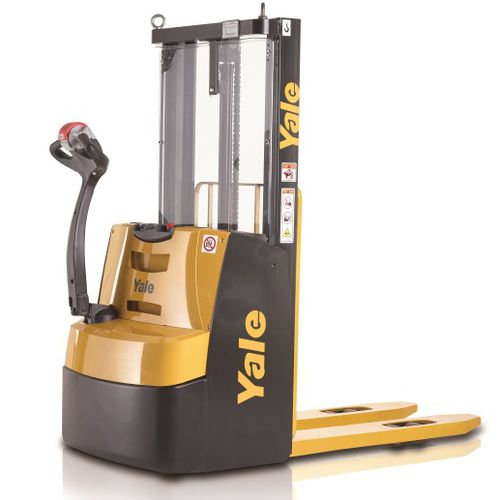Electric stacker truck / walk-behind / for pallets / for warehouses MS10E Yale