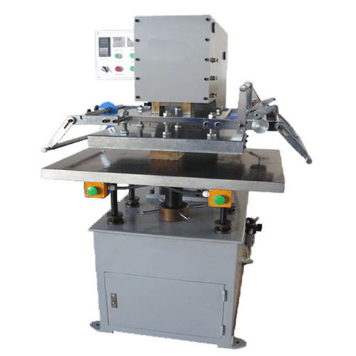 Hot foil stamping machine / electro-pneumatic / for large print areas H-TC-300/400/500/600 LC Printing Machine Factory Limited
