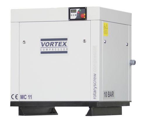 air compressor / stationary / electric / screw