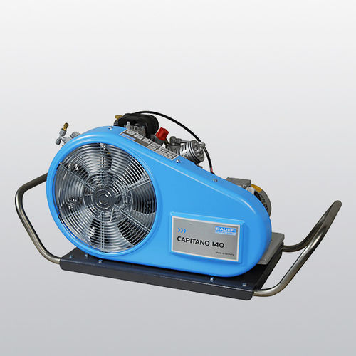 breathing air compressor / mobile / electrically-powered / gasoline engine