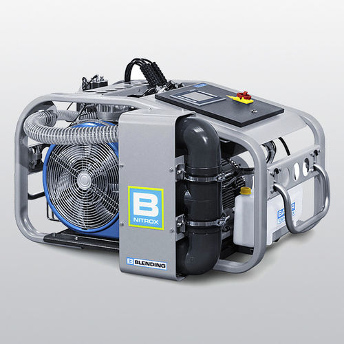 breathing air compressor / portable / electrically-powered / piston