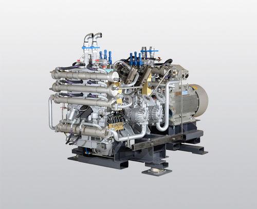 water-cooled compressor / air / nitrogen / natural gas