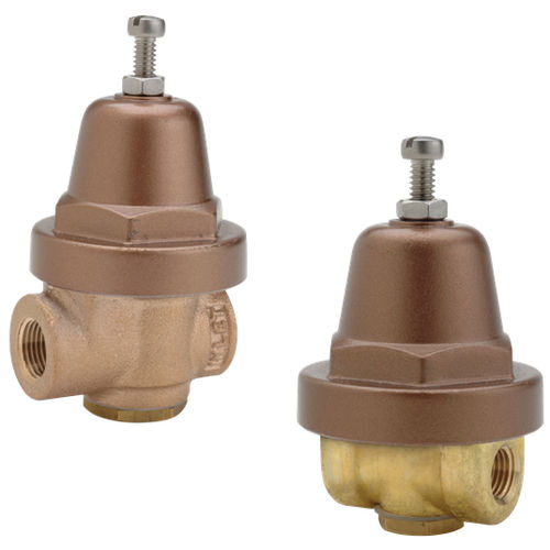 gas pressure regulator / for air / for water / for oil