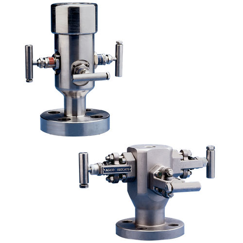 Needle valve / manual / isolation / double block-and-bleed F29/F33K Pentair Valves & Controls