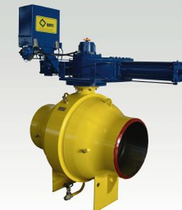 Ball valve / for natural gas / drain / with trunnions DN 50 - 1400, class 900 | RAIMONDI Pentair Valves & Controls