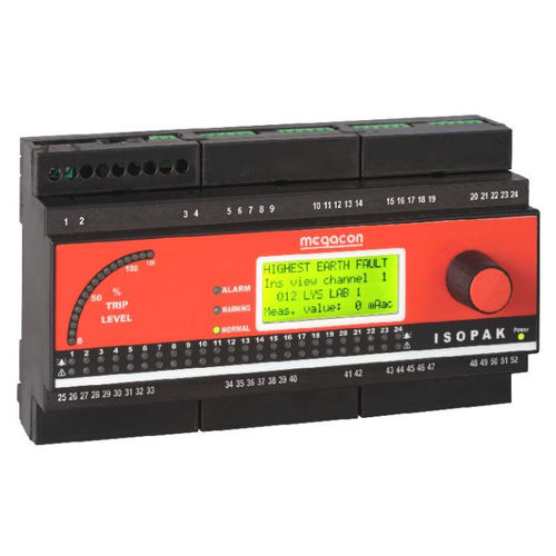 Voltage protection relay / DIN rail / digital ISOPAK1xx series Meagacon AS
