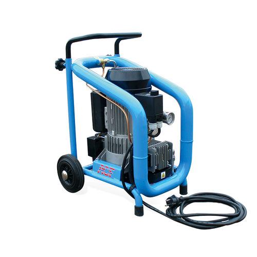 air compressor / mobile / electric