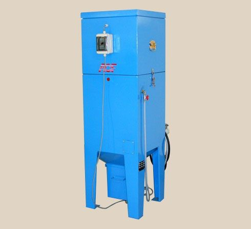 Cartridge dust collector / pneumatic backblowing / for air blasting / industrial 1000 m³/h | F1000 ACF France