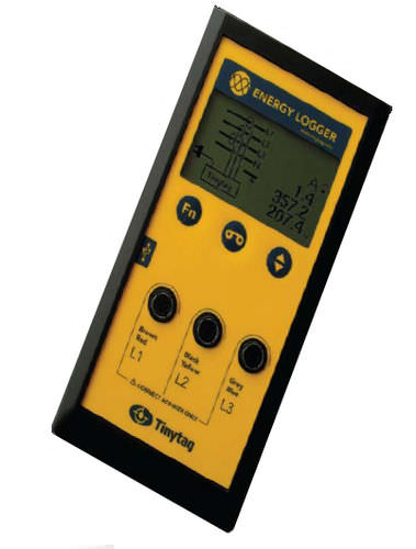 power data-logger / energy / USB / with screen