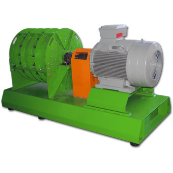 rotary drum mill / horizontal / vertical / for cables