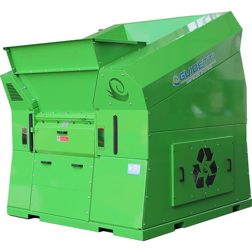 single-shaft shredder / for cables / for non-ferrous materials