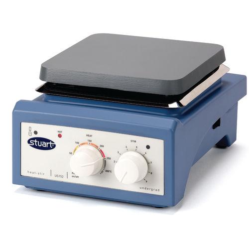magnetic stirrer / horizontal / analog / hot plate