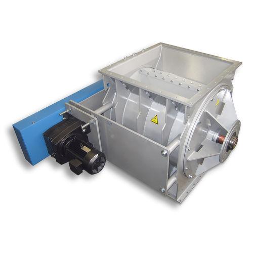 Pneumatic conveying rotary valve / square-flange / explosion-proof ZSB series Jaudt Dosiertechnik Maschinenfabrik GmbH