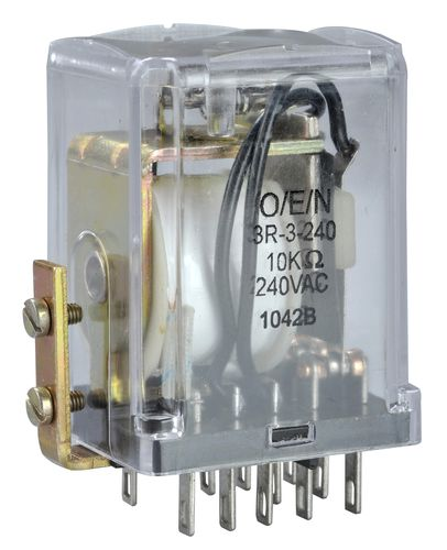 Electromechanical relay / control / control / plug-in 31(3R/4R) series O/E/N India Ltd.