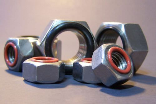 Hexagonal nut / steel / self-sealing ZaGO Manufacturing Co.