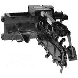chain trencher / for skid steer loaders