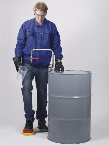 Solvent pump / foot-operated / semi-submersible / explosion-proof Bürkle