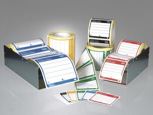 Adhesive label / identification / PVC / PU close-it food & pharma Bürkle