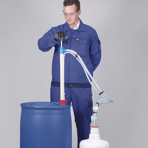 Ammonia pump / manual / piston / semi-submersible PP Bürkle